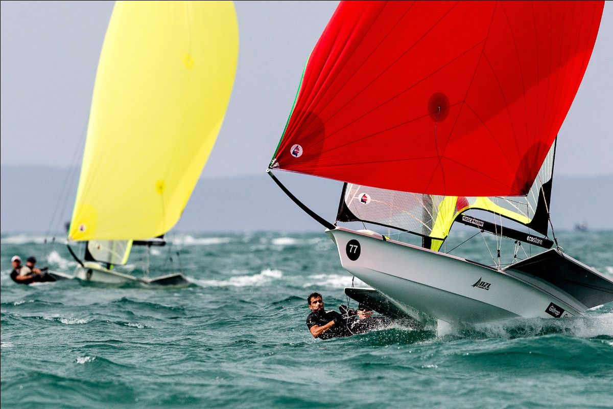 The 49er Worlds will be a hot ticket item