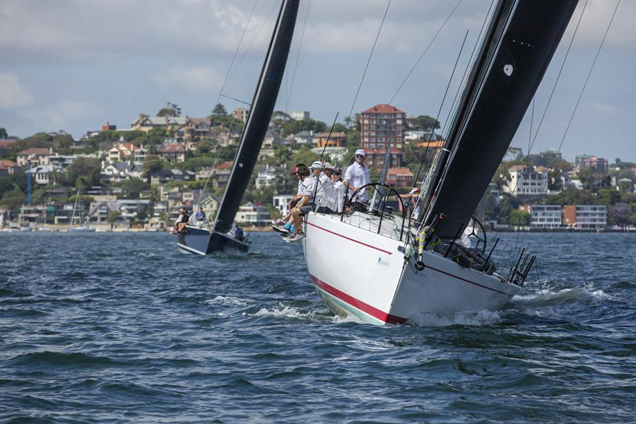 Rolex Sydney Hobart entrant LCE Showtime is looking to move up the leaderboard in the Blue Water Pointscore - Credit CYCA.