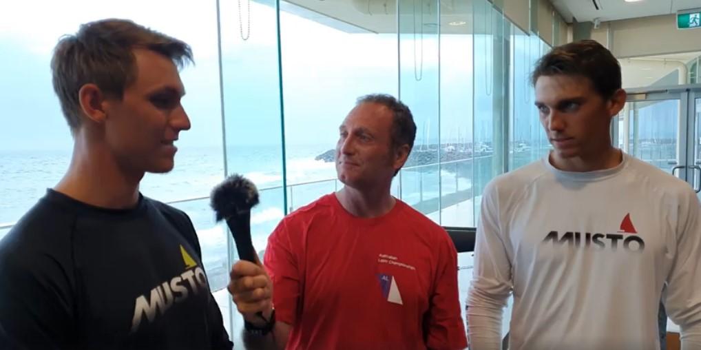 Jon Emmett interviews Benjamin and Jonatan Vadnai from Hungary about their battle for a spot at the Tokyo Olympics.