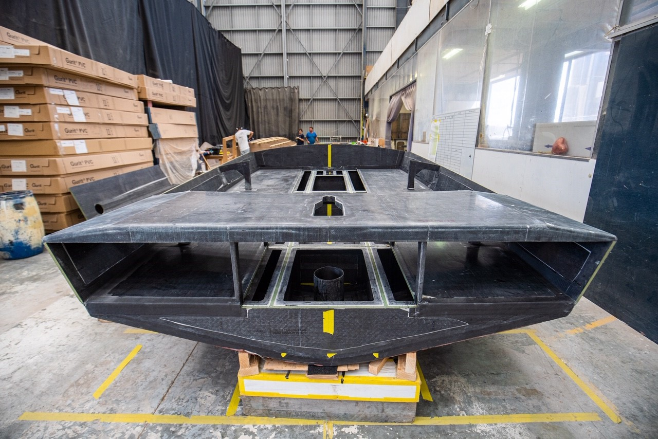 Youth America's Cup boats are in production.