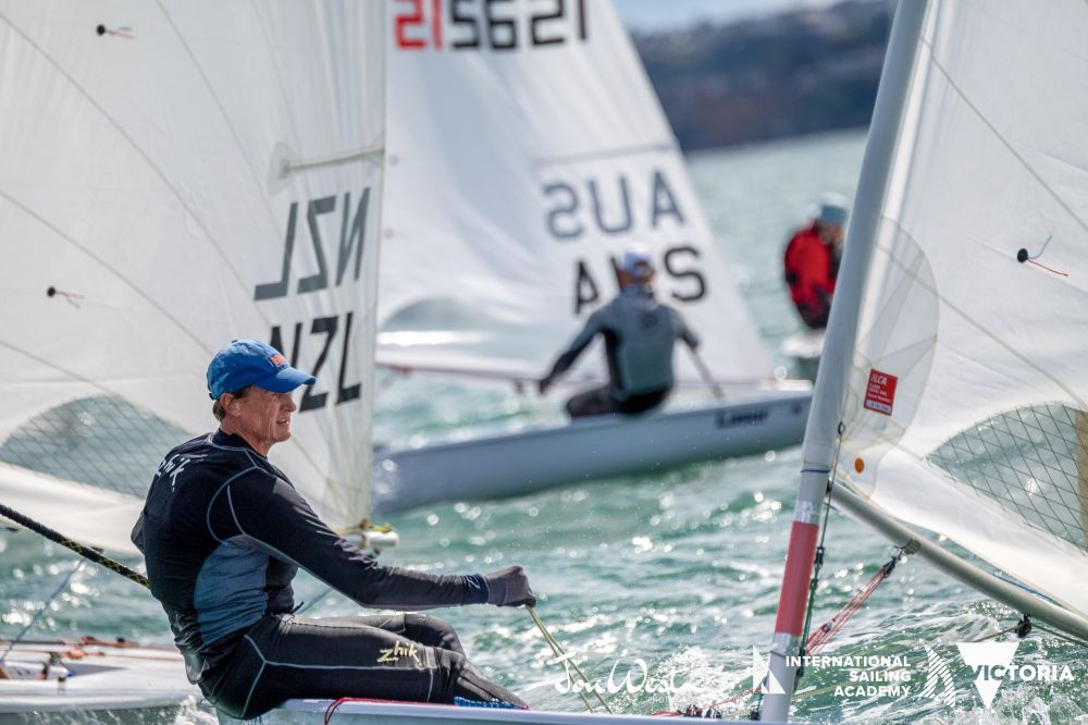 Brett Beyer had a perfect start to the Oceania and Australian Championships