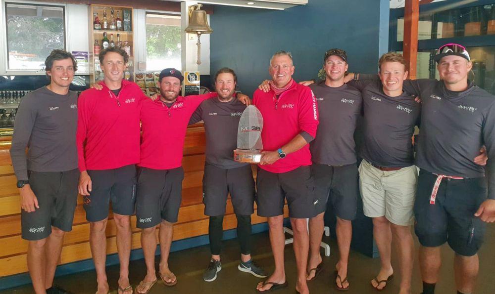 Winning crew of Lazy Dog_credit Tilly Lock.