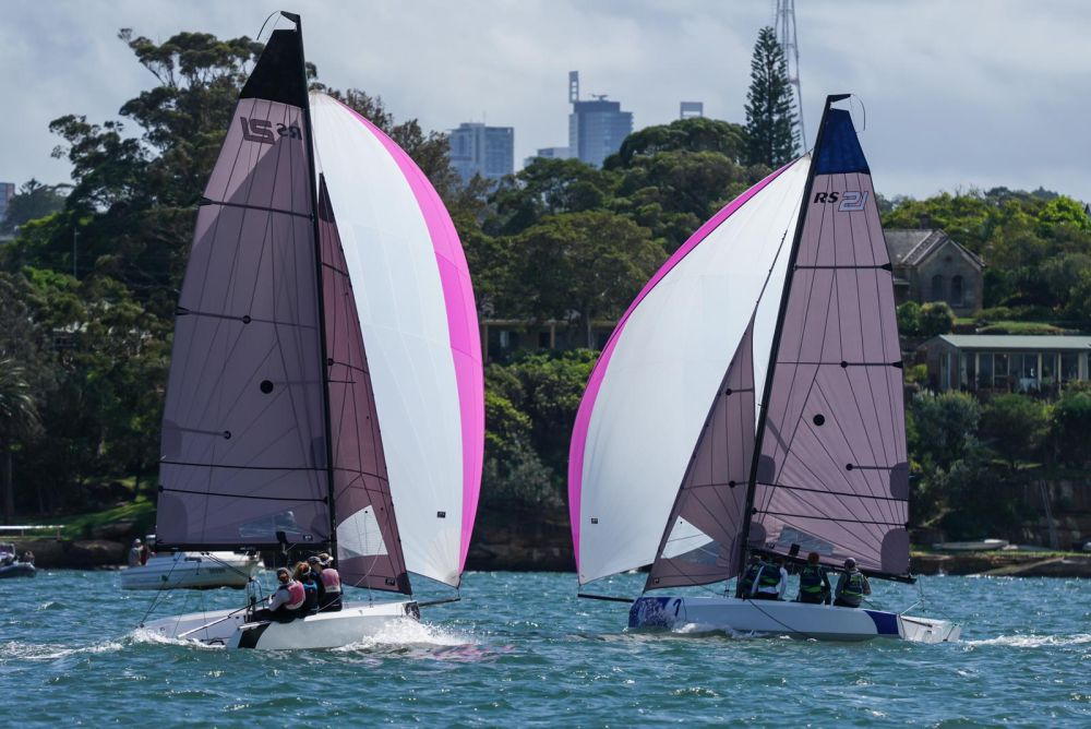SCLAPAC NQ downwind on day 2_credit Beau Outteridge.