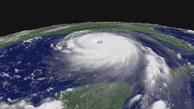 Hurricane Katrina. Credit: NOAA.
