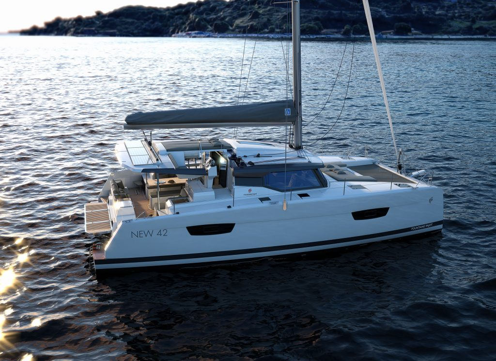 Multihull Solutions will showcase the famous Fountaine Pajot Astréa 42 sailing catamaran at the 2019 Club Marine Pittwater Sail Expo.