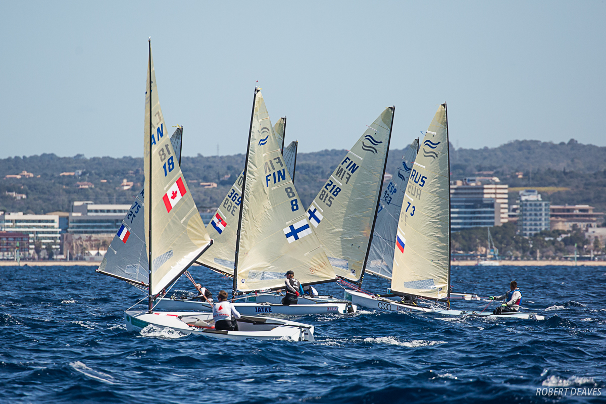 Entry to the premier Finn event is open - Robert Deaves pic