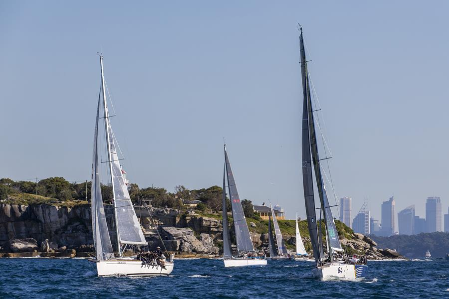 The start of the Sydney Gold Coast Yacht Race will once again prove spectacular. (Pic: Andrea Francolini).