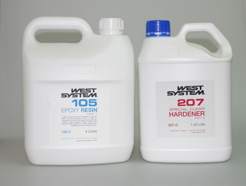 West System Ultra clear 207 Special Clear Hardener