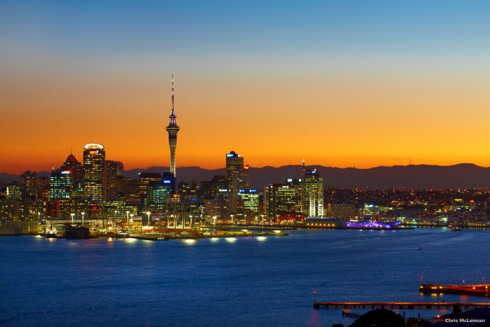 Auckland City. Photo Chris McLennan courtesy Tourism NZ.