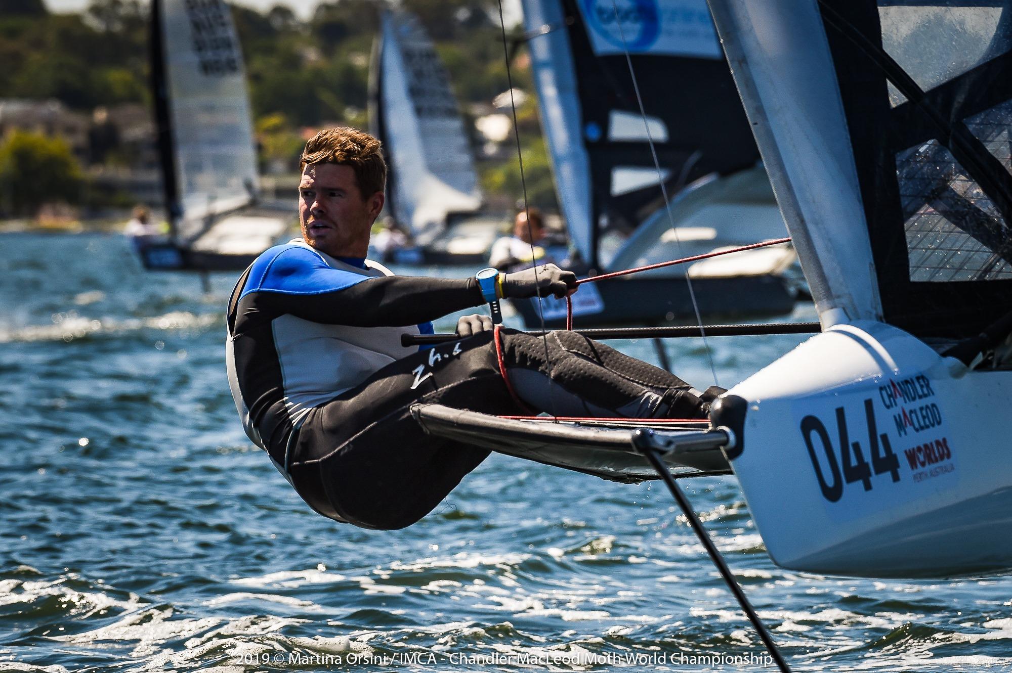 New Australian National champion Tom Slingsby leads - Martina Orsini pic