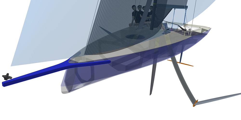 Youth America's Cup artist's impression courtesy of ETNZ.