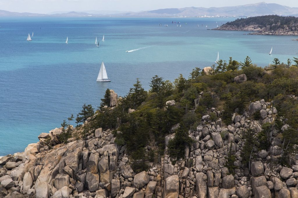 Aerial view of SeaLink Magnetic Island Race Week - Andrea Francolini pic/SMIRW