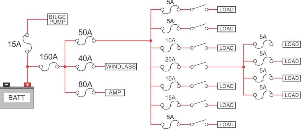 Circuit diagram. Source: New Wire Marine