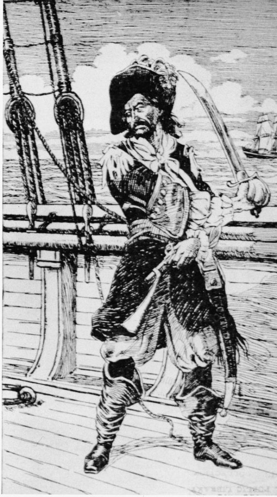 Scottish Privateer Captain William Kidd.