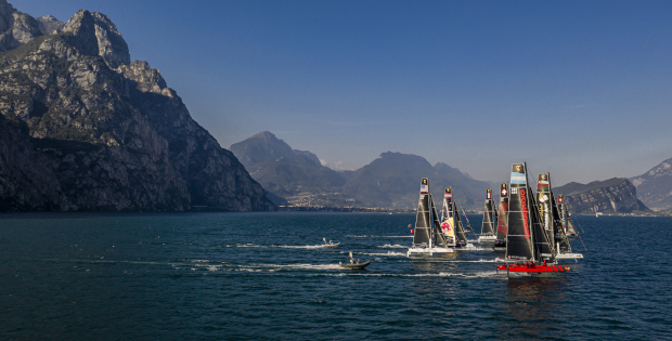 Reaching starts on Lake Garda - -it-doesnt-get-much-better - Sailing Energy pic
