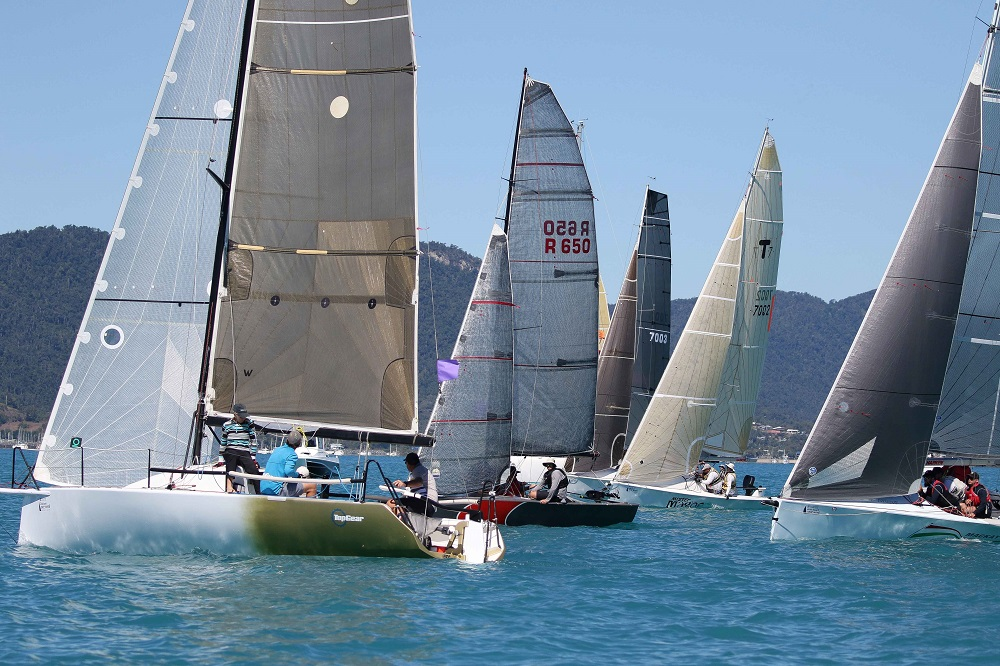 Performance Racing yachts ready to start - Shirley Wodson pic