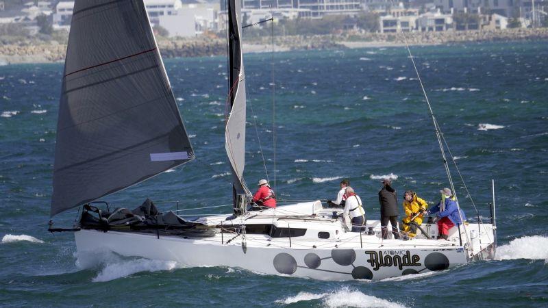 Atomic Blonde JPK 10.80 off Fremantle.