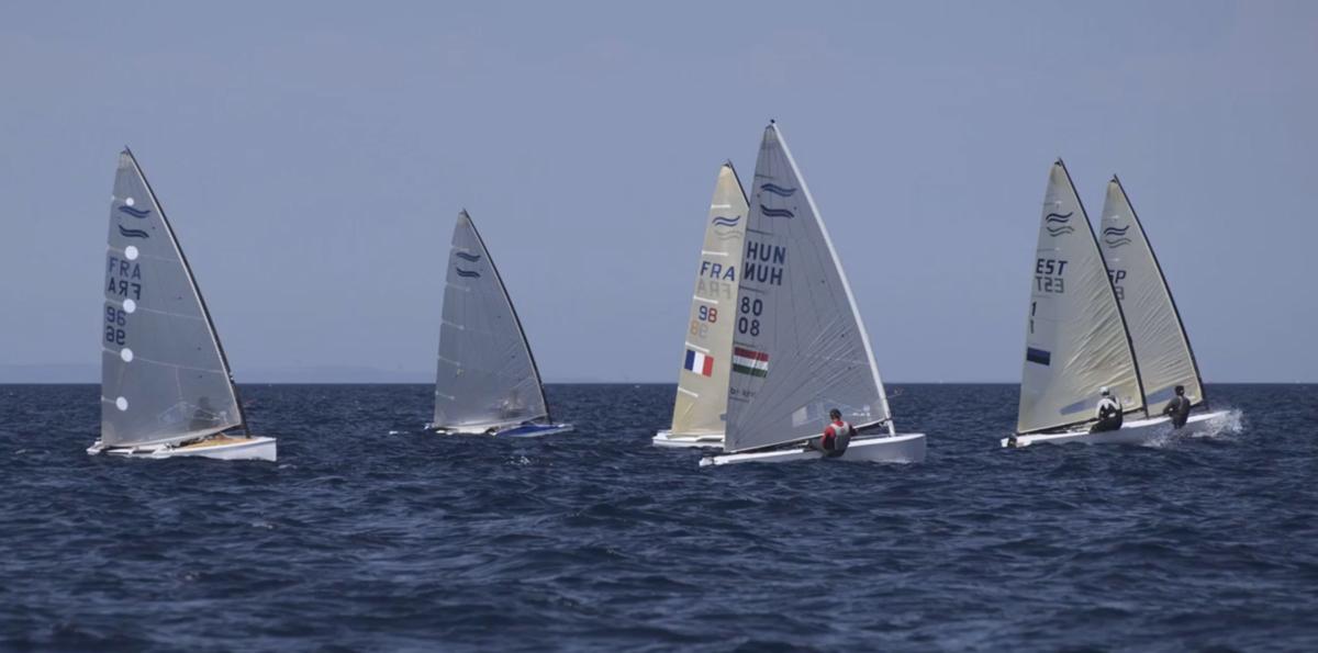 2020 Finn Silver Cup. Photo by Marie Bernoit.