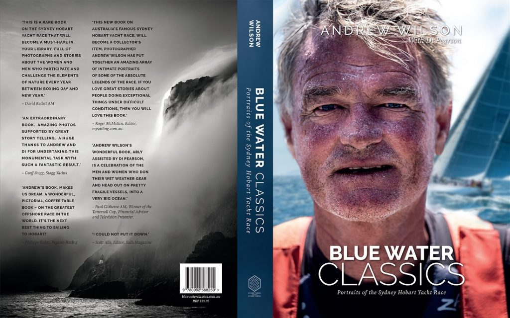 Blue Water Classics - front and back cover - C Andrew Wilson.