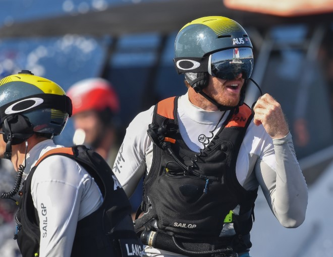 Tom Slingsby (AUS) has the upper hand - SailGP pic