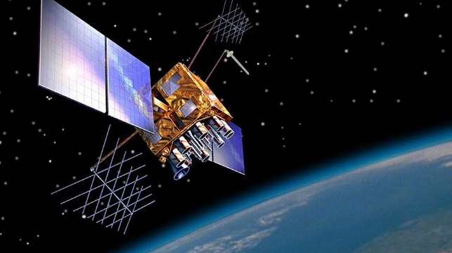 GPS satellite. Credit: NOAA National Ocean Service.