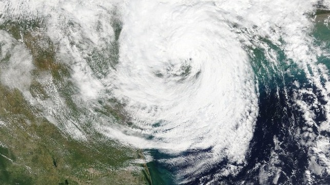 Tropical Storm Beta stalls over Texas