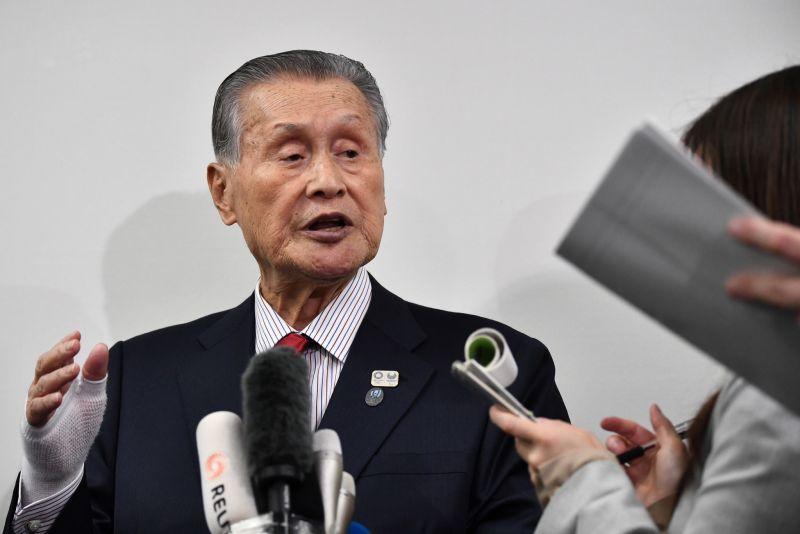Tokyo 2020 President Yoshirō Mori. Photo Getty Images.