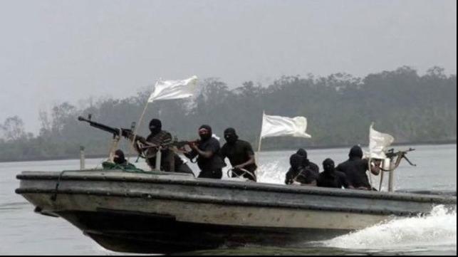 Nigerian pirates. Photo Maritime Executive.
