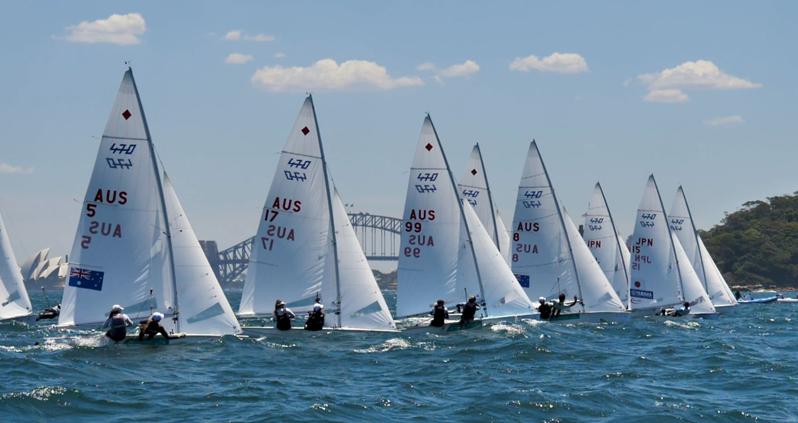 Sail Sydney 470. Photo Hartas Productions.