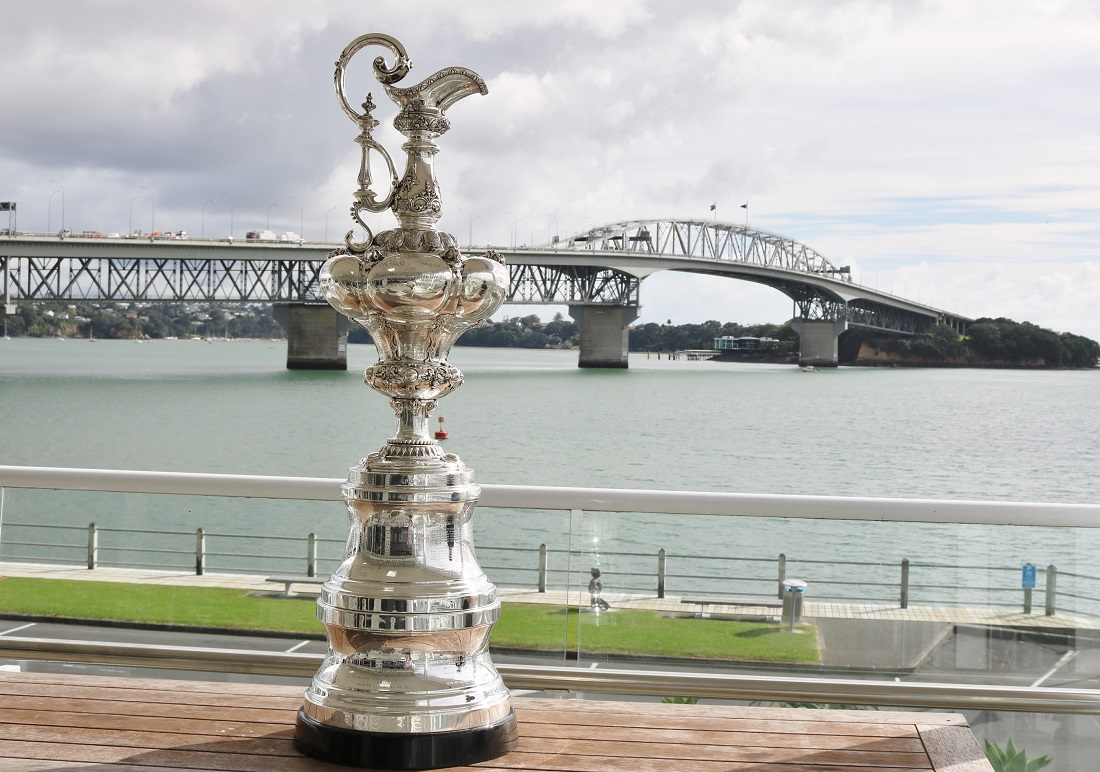 The America's Cup - Andrew Delves RNZYS pic.