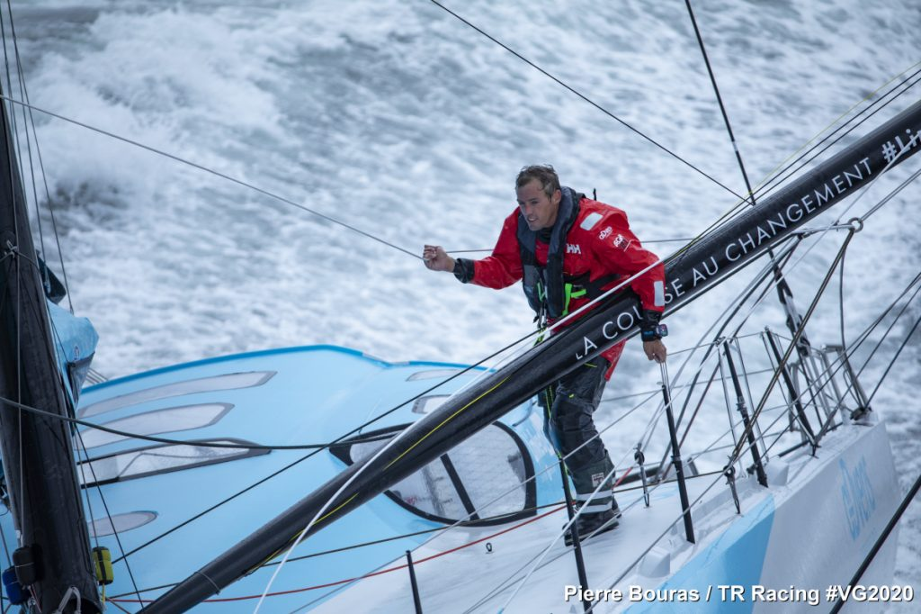 Thomas Ruyant Linked Out Vendee Globe