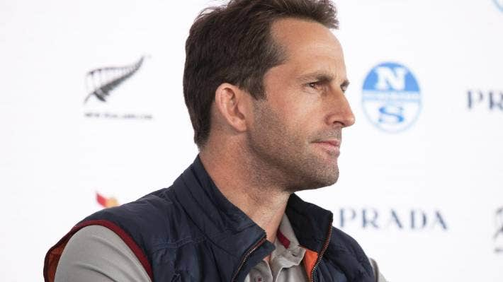 Sir Ben Ainslie insists his boat's problems can be fixed. JASON DORDAY/STUFF