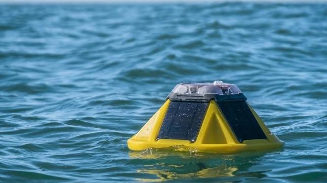 Metocean buoy. Image courtesy International Seakeepers Society.