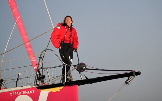 Alexia Barrier , Vendee Globe 2021.