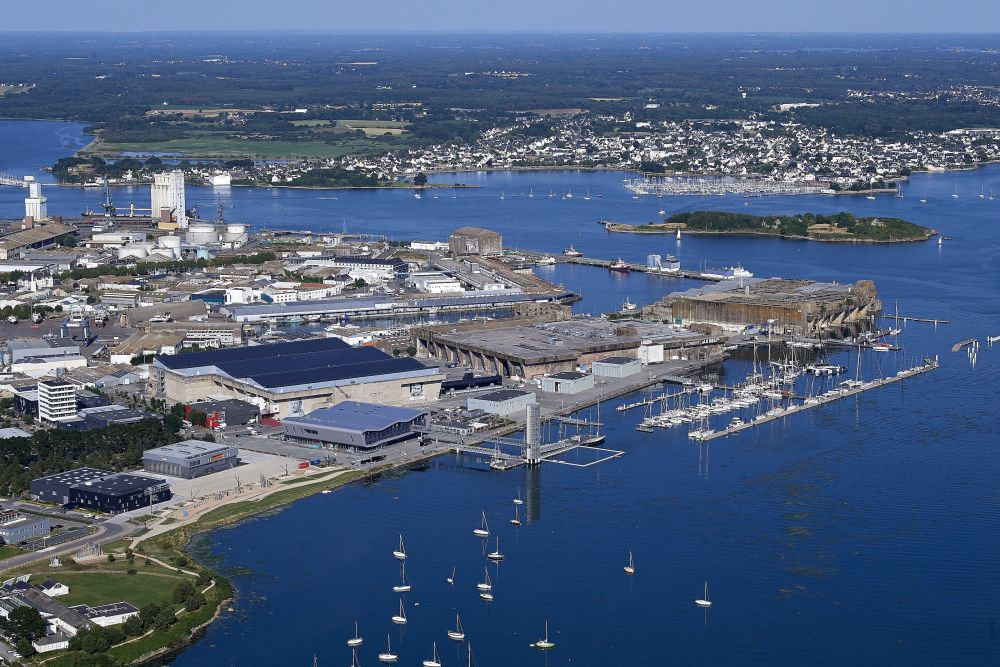 Lorient La Base. Photo © Y. Zedda.