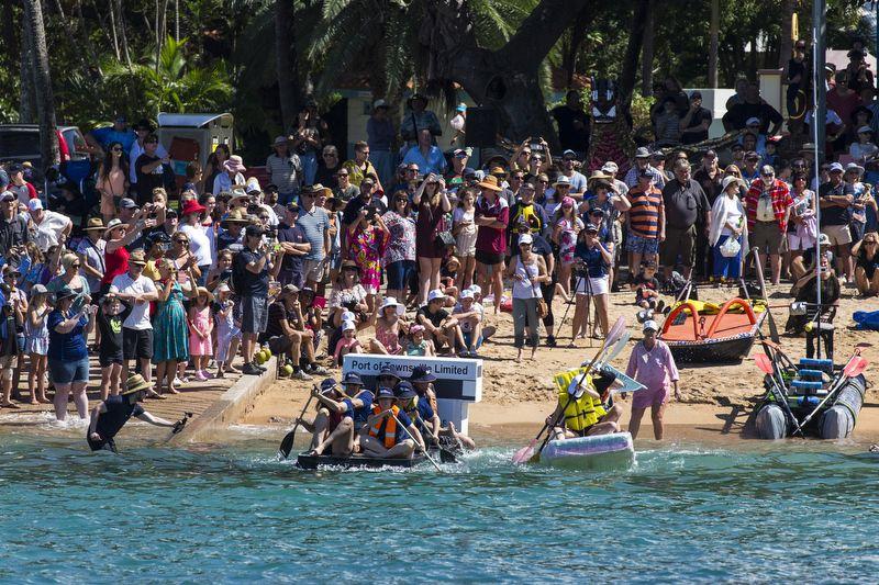 Magnetic Island Race Week beer can regatta. Photo Andrea Francolini.