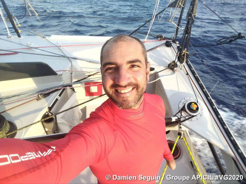 Damien Seguin skipper of of Groupe APICIL