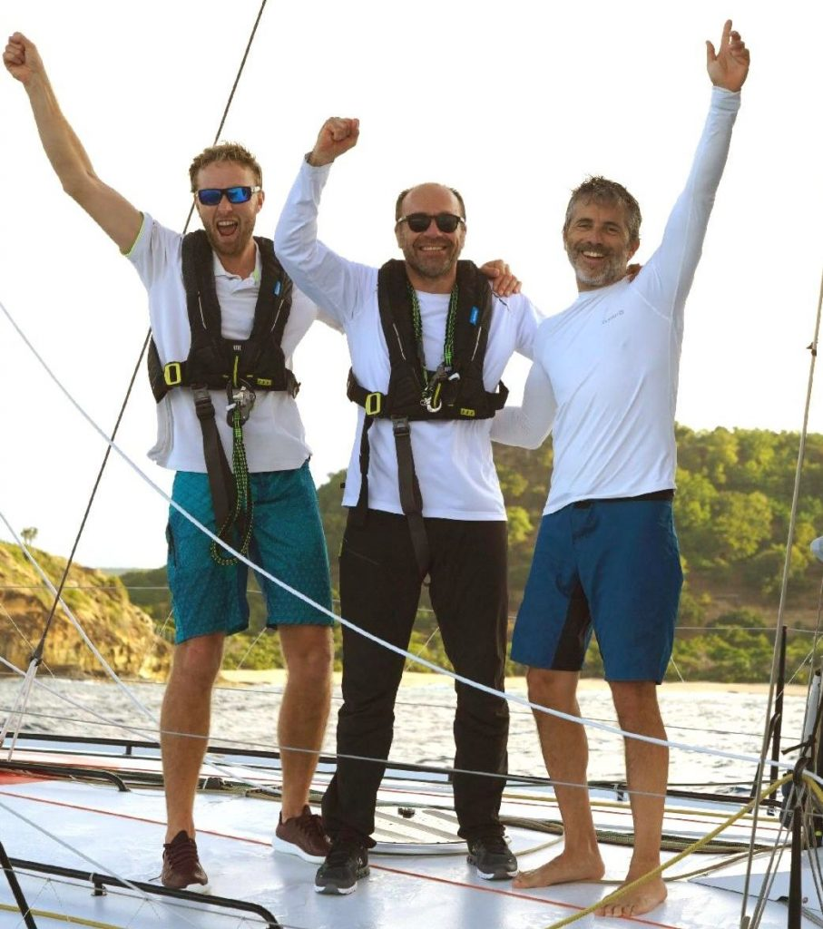 The winning team - Palanad 3: L-R Luke Berry