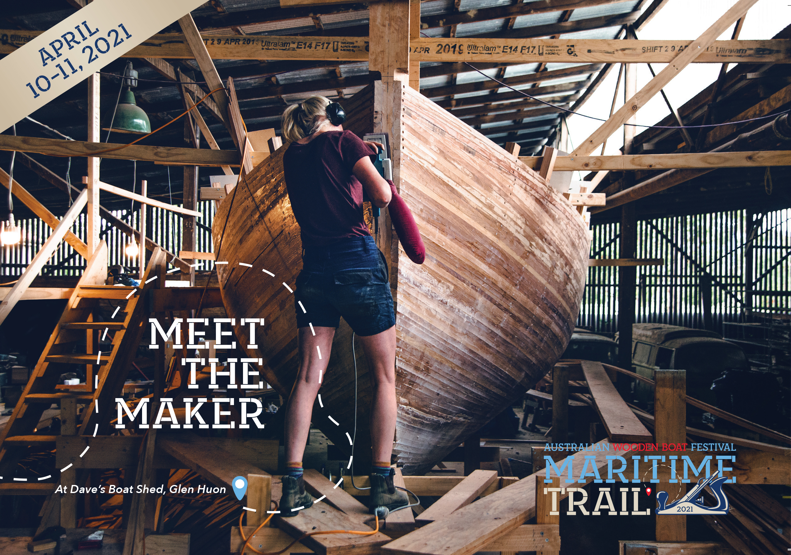 Maritime Trail in lieu of wooden boat fest sponsored by ATL