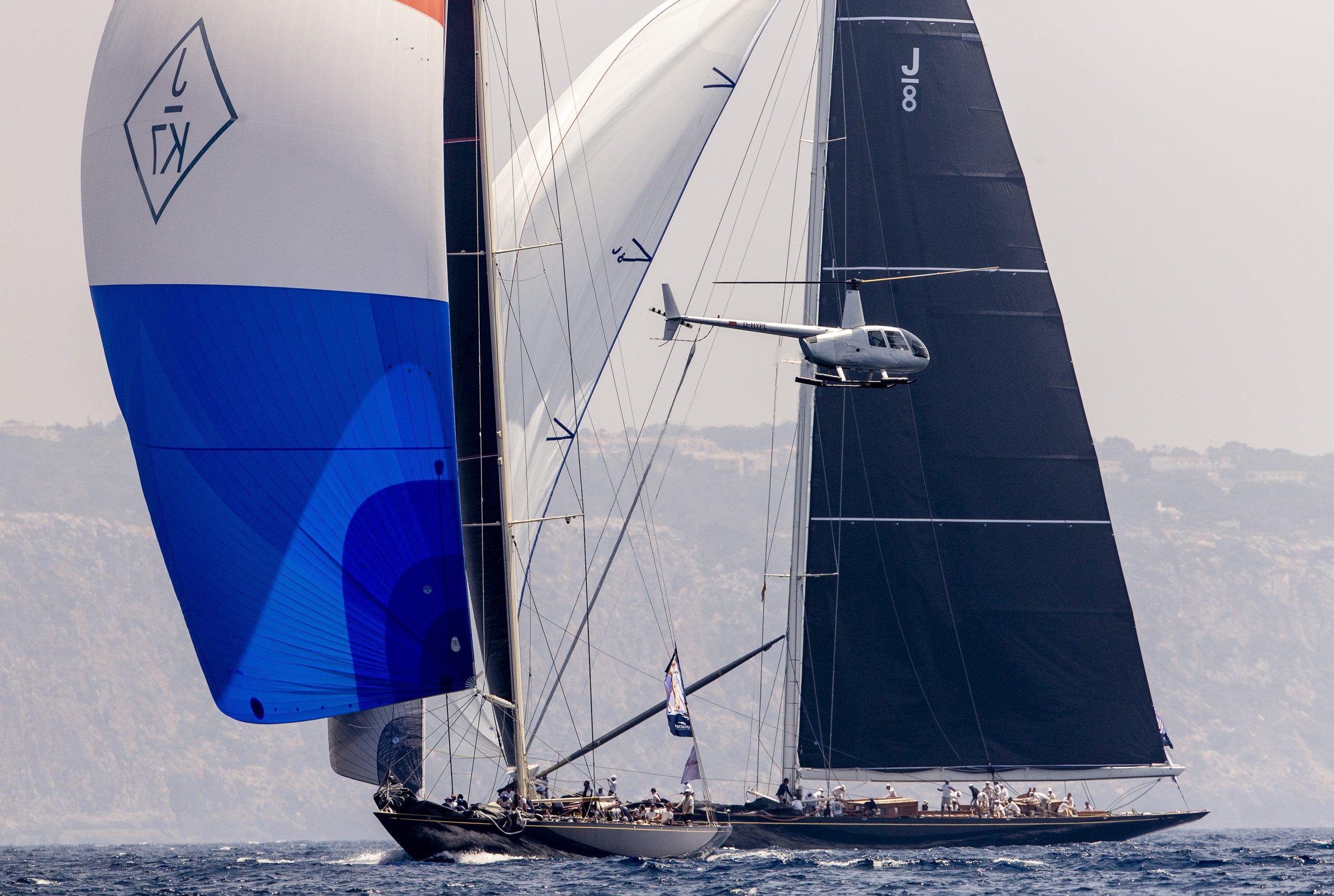 Velsheda, Charles Nicholson/Dykstra, Camper & Nicholson, 39,5m. © Sailing Energy / SYC 20 June, 2019.