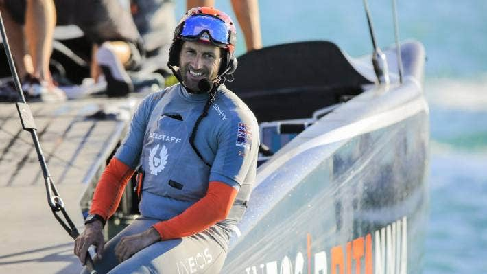 Team UK skipper Sir Ben Ainslie sees a bright future for the America's Cup. Photo ACE/Studio Borlenghi.