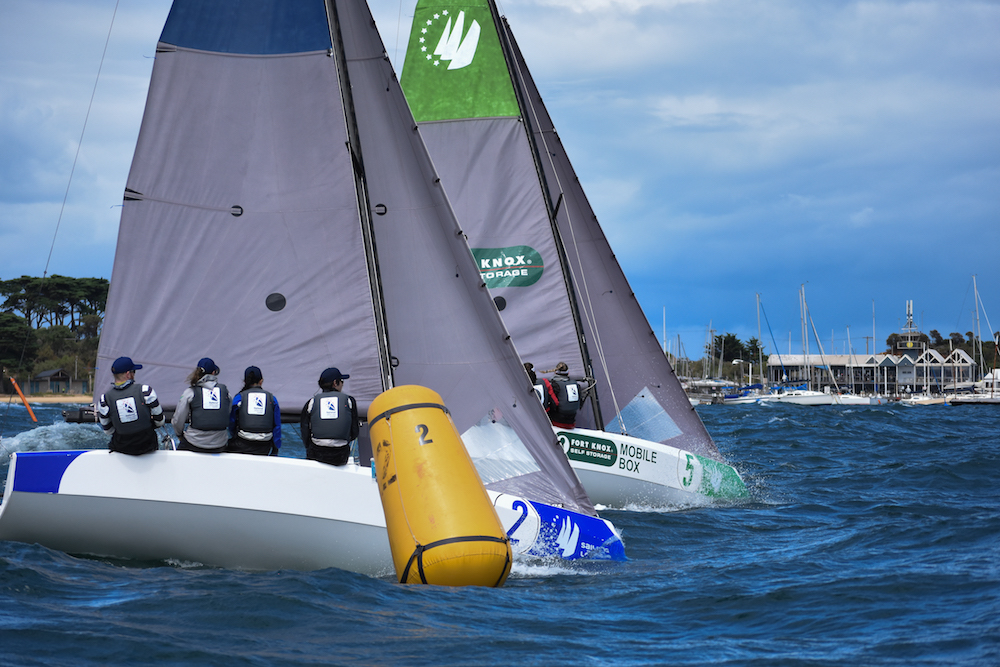 Sailing Champions League. Photo Harry Fisher.