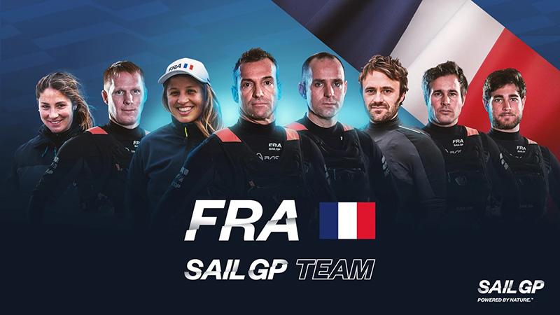France SailGP Team Announces Its Line Up