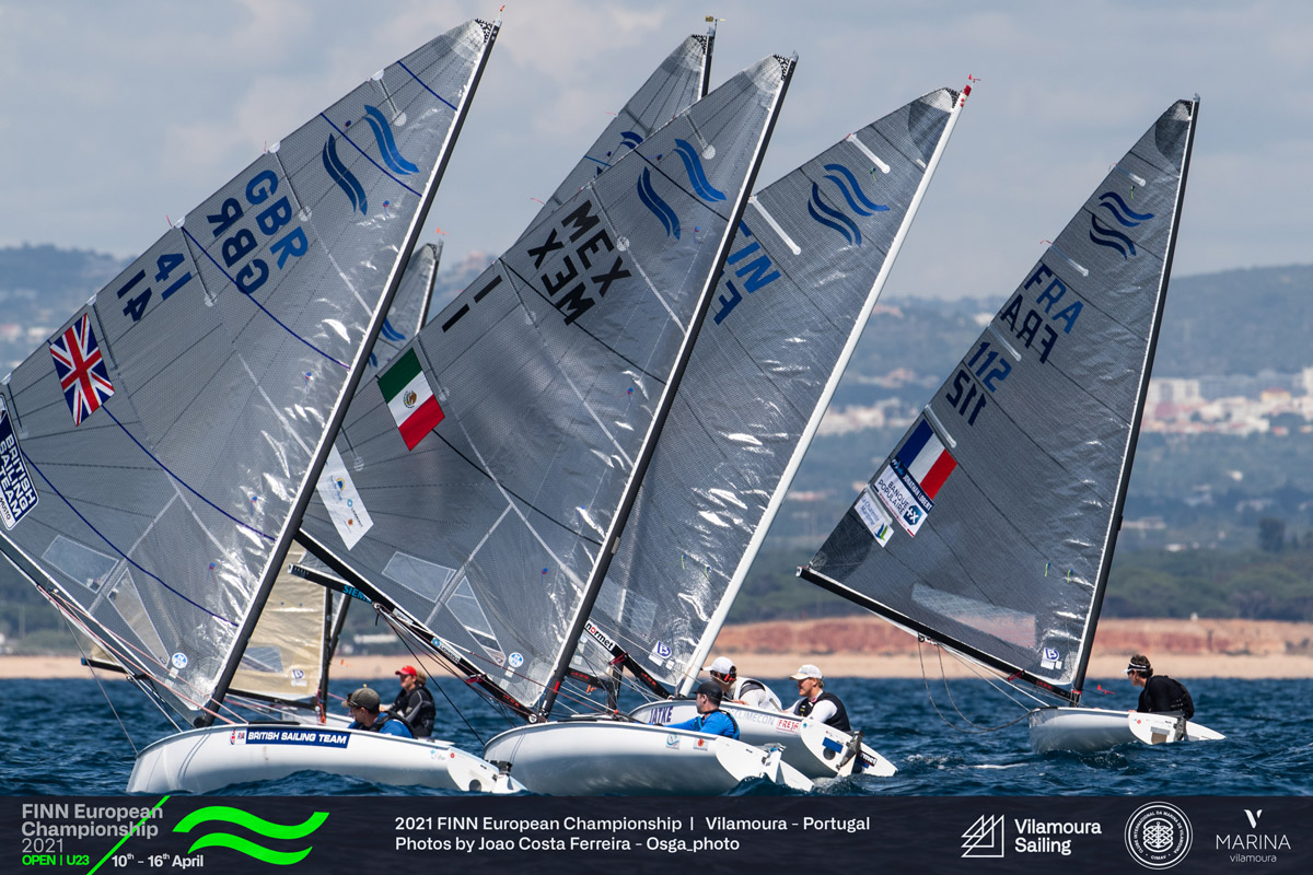 Consistent Zsombor Berecz leads after opening day at Finn Europeans in  Vilamoura  