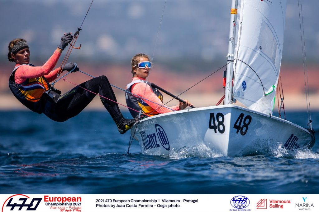 CHALLENGING CONDITIONS ON DAY 3 OF 2021 470 EUROPEANS