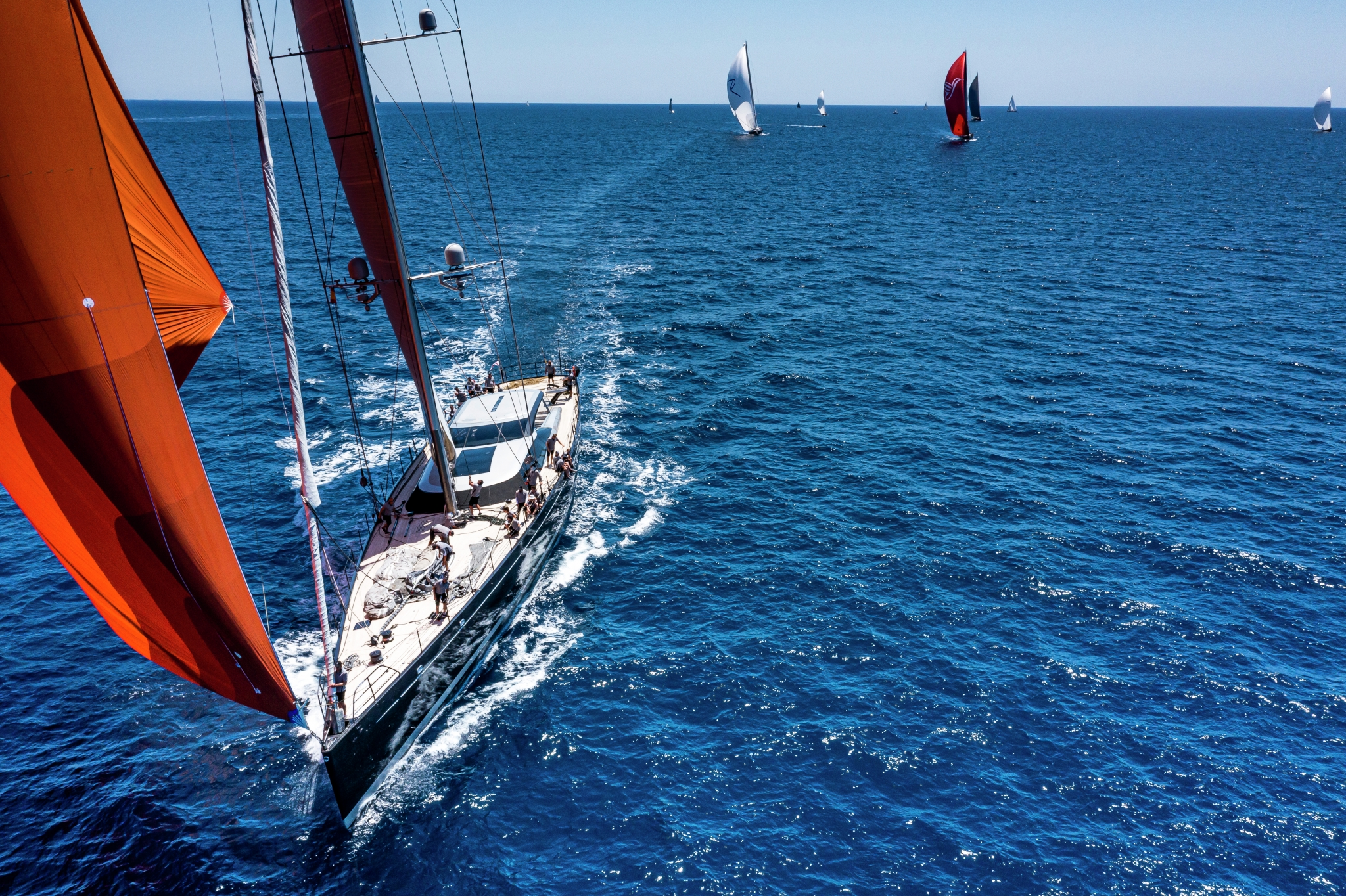 Superyacht Cup Palma 2021, kite run