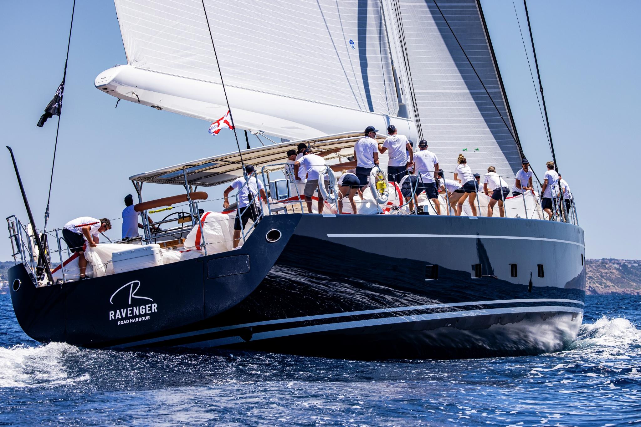 Superyacht Cup Palma 2021, overall winner of the regatta 'Ravenger'