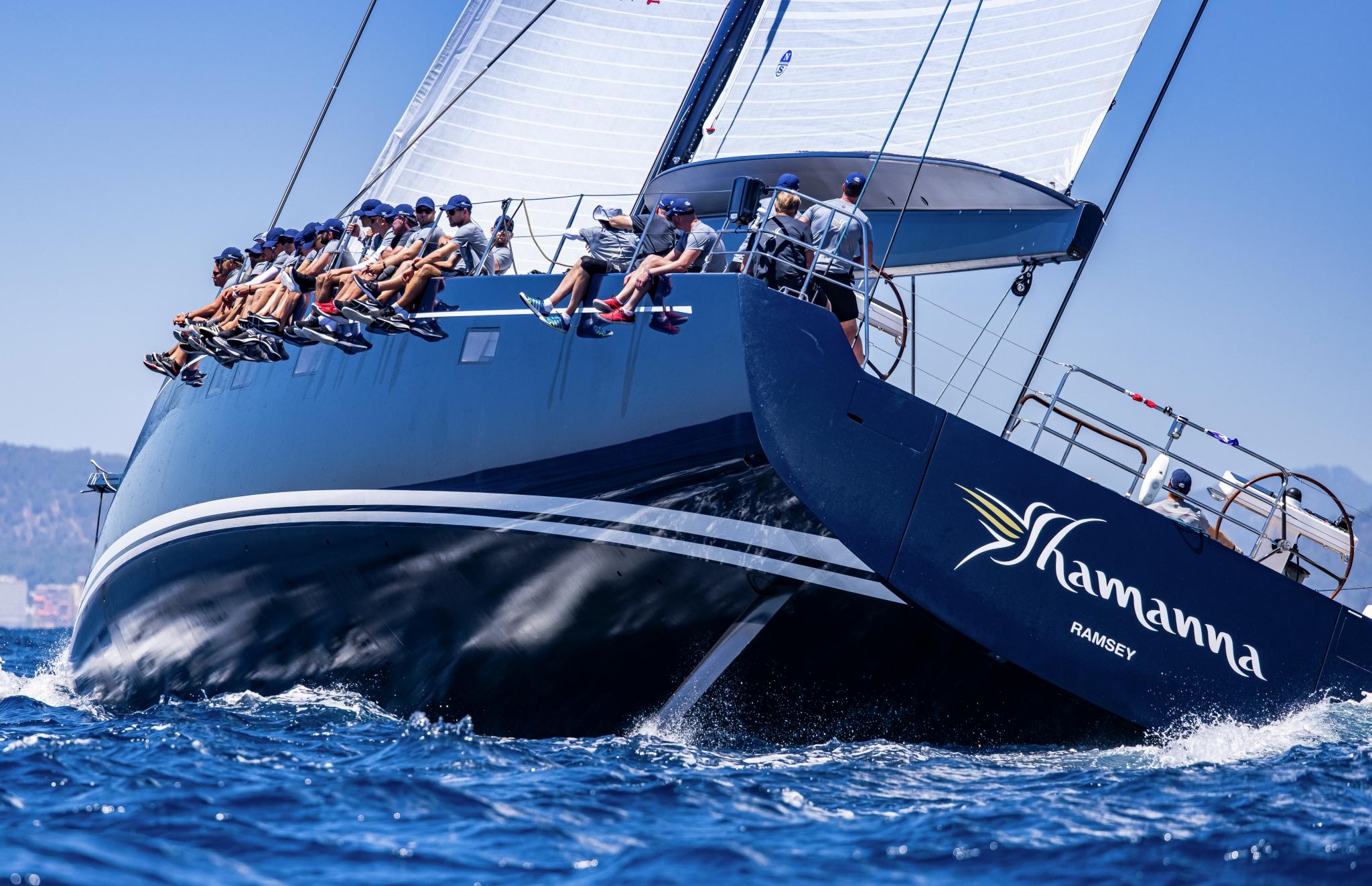 Superyacht Cup Palma 2021, 'Shamanna' - the 35m Frers designed Nautor Swan