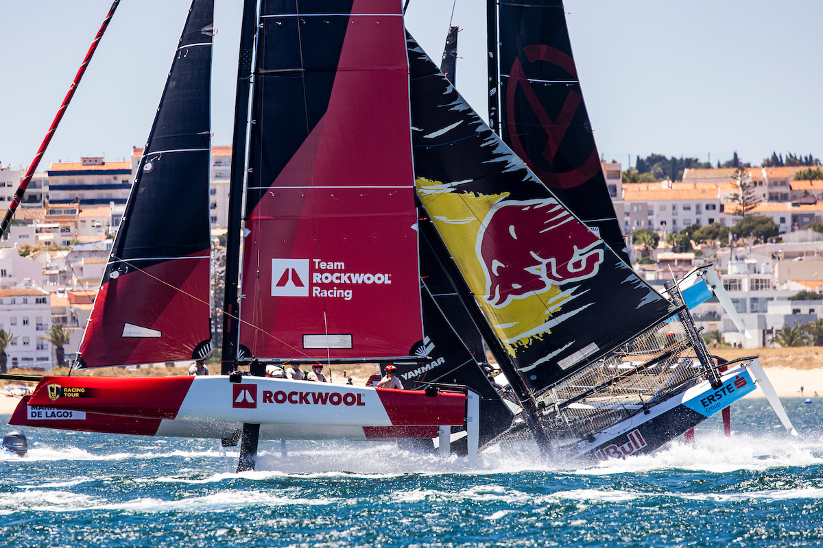Start of Red Bull nose dive