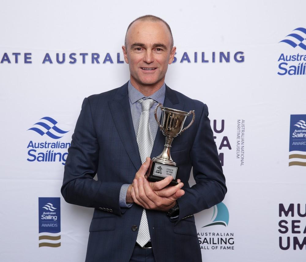 2019 Coach of the Year Winner - Michael Blackburn.